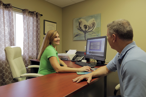 Treatment Coordinator Room