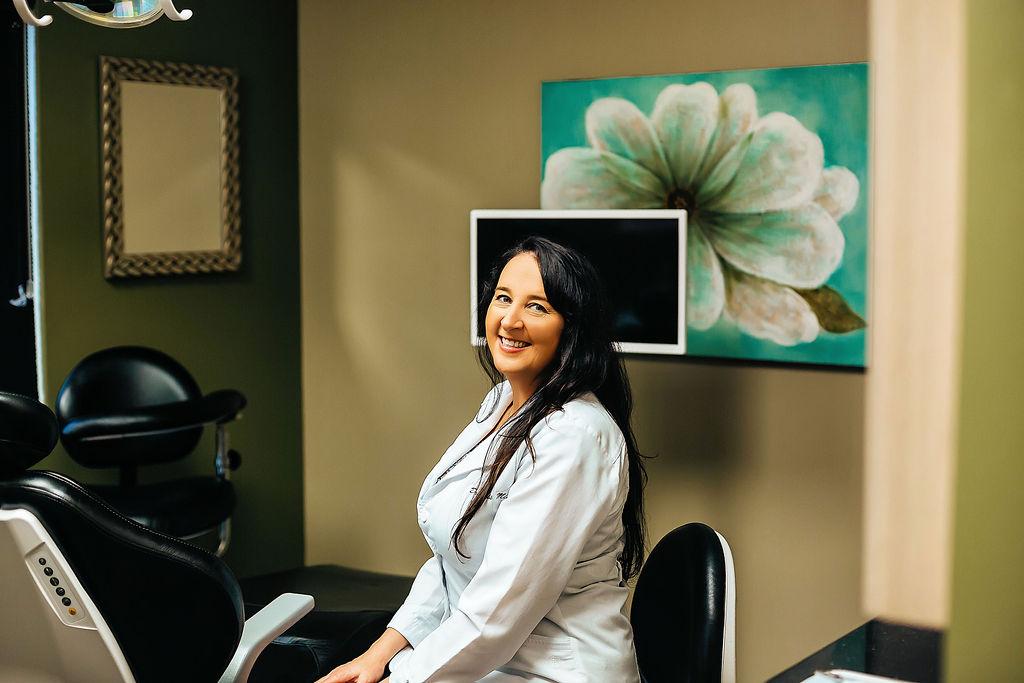 Dr. Janis Milne in Inspiration Dental Office