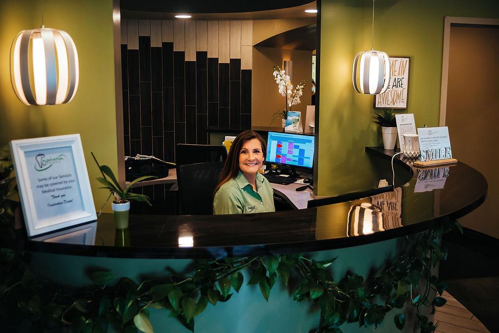 Inspiration dental front desk